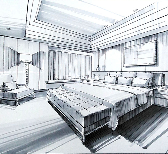 卧室装饰效果
